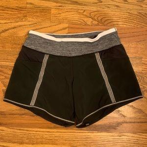 Lululemon Black Shorts With Dramatic Static Waist
